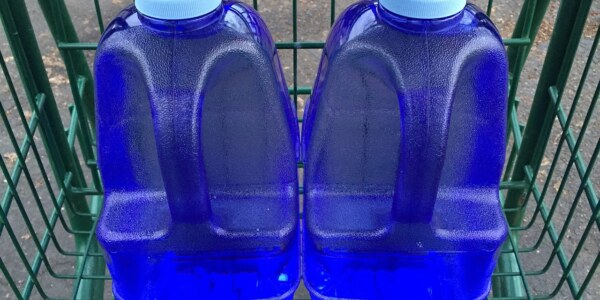 You need to measure out four gallons, but you only have a three-gallon jug and a five-gallon jug. How do you measure out four gallons exactly?